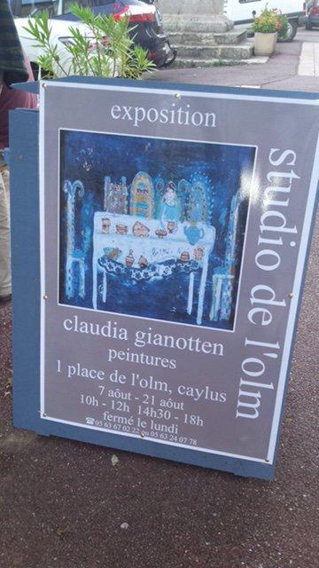 foto brochure expositie Frankrijk